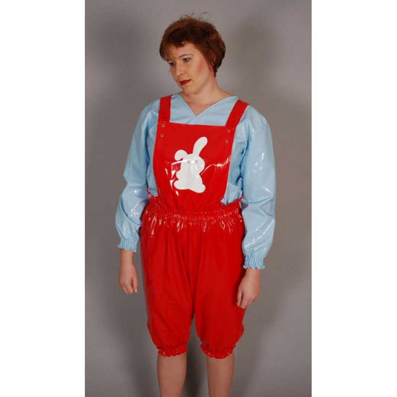 Dungaree shorts - Bonito No. 2, 97,00 €, GUWI Fetishstore - Rubber ...