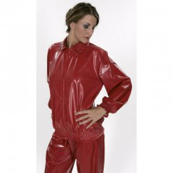 Windbreaker - Sven - PVC fabric 0.45mm - Red - XXL
