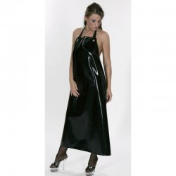 Butchers apron - Alfred - Latex 0.8mm - Black