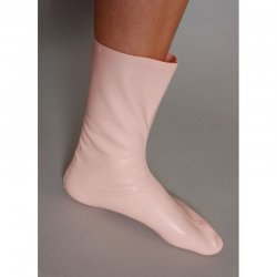 socks - ANDY - Latex 0.5mm - Black - M2M