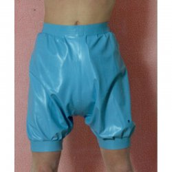 Pants - Mohr - Latex 0.5mm - Black - M