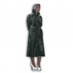 Coat - Osmar - Latex 0.5mm - Dark blue - XXL