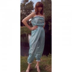 Romper - Rebecka - Soft PVC - White - XXL