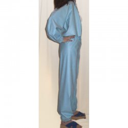 Jumpsuit - Ronald - Bengal rubber - Light blue - L