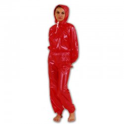 Jumpsuit  - Ronald Complete - Soft PVC - Black - M