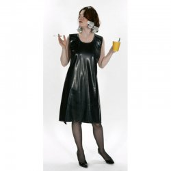Apron - Martha Midi - Latex 0.8mm - Transparent