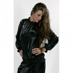 Sweater - UWE - Soft PVC - Black - XXL