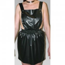 Bib skirt ROSI - Latex 0.5mm - Transparent - S