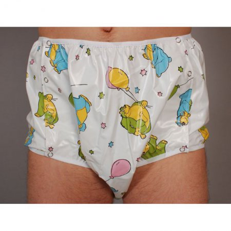 Snap Sided Nappy Pants - Michael