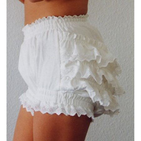 Ruffled Nappy Pants - Saskia