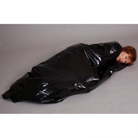 Latex sleeping bag